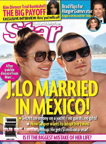 Jennifer Lopez And Casper Smart Marry In Mexico (Photo)