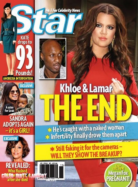 No Escape from Divorce for Khloe Kardashian and Lamar Odom