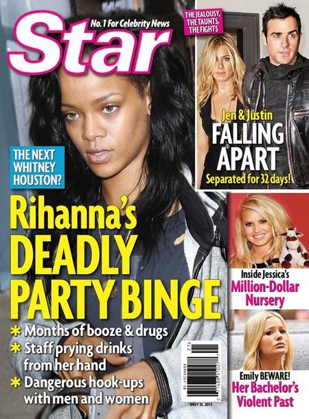 Heartbroken Rihanna's Deadly Party Binge (Photo)
