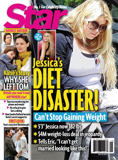 Jessica Simpson Diet Disaster, She Can't Stop Gaining Weight