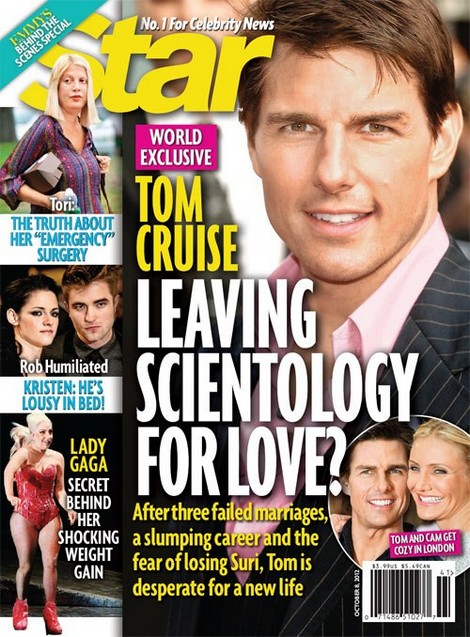 Tom Cruise Quits Scientology!