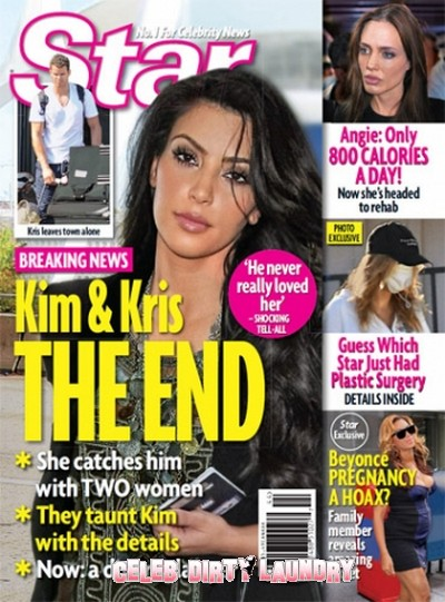 Star Magazine: Kim Kardashian & Kris Humphries The End Of Their Marriage!