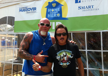 One Legged Pro Wrestler Steve Chamberland Appears on ABC's Extreme Home Makeover
