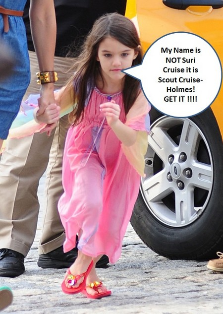 Katie Holmes Wants to Change Suri's Name To Holmes
