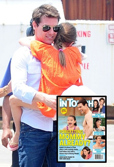 Suri Cruise Forgetting Katie Holmes Already? 0808