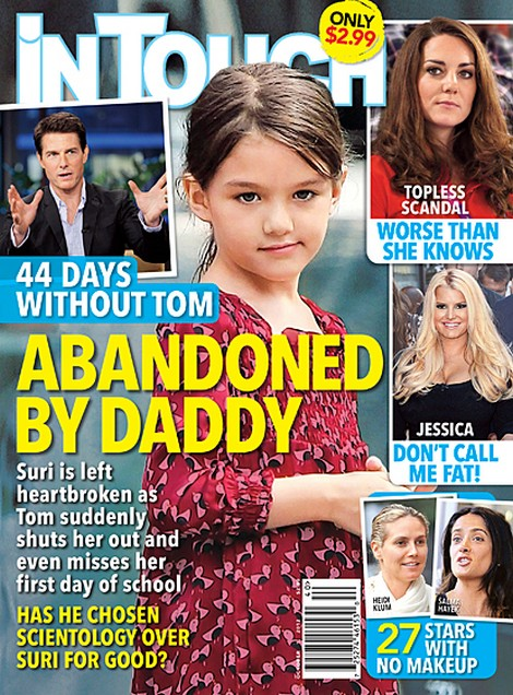 Suri Cruise Has Been Abandoned By Her Father Tom Cruise