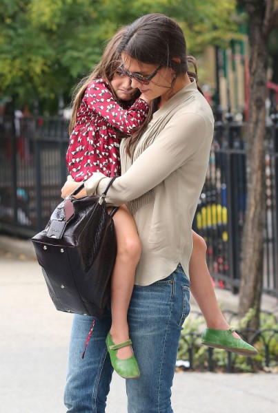 Suri Cruise Crushed Tom Cruise Ditched Her On First Day Of School 0921