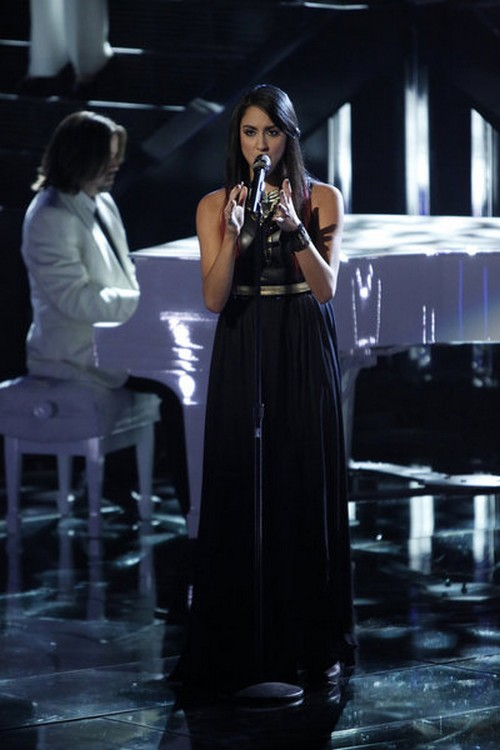 "Sylvia Yacoub The Voice Top 10 ""Girl on Fire"" Video 11/19/12"