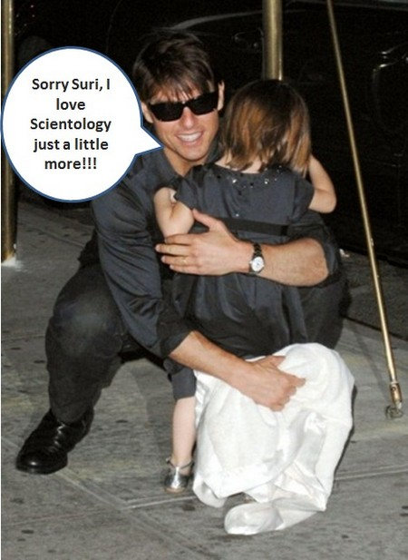 Tom Cruise Chooses Scientology Over Daughter Suri Cruise
