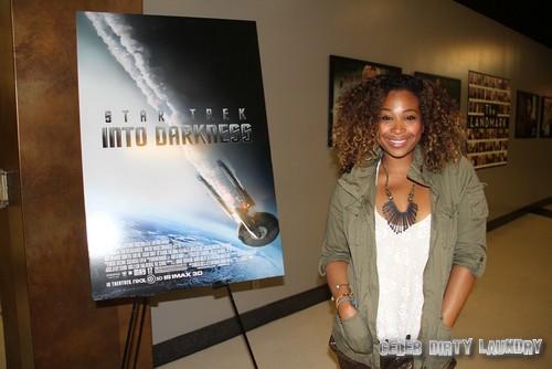 Tanika Ray in LA