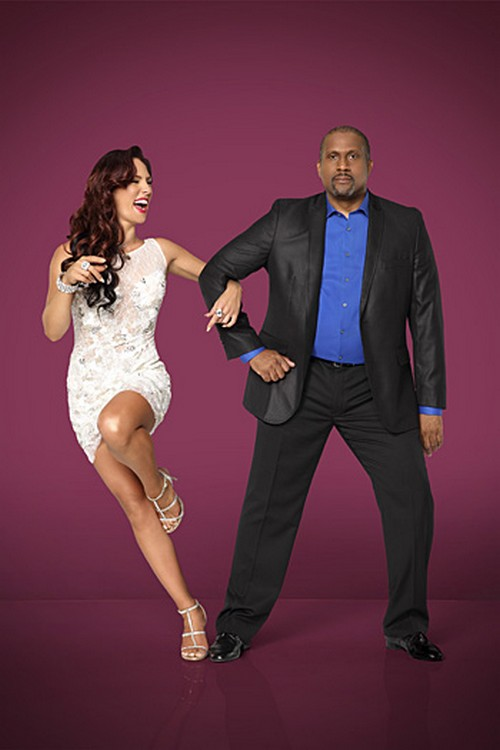Tavis Smiley, Sharna Burgess Dancing With the Stars Foxtrot Video Season 19 Premiere 9/15/14 #DWTS