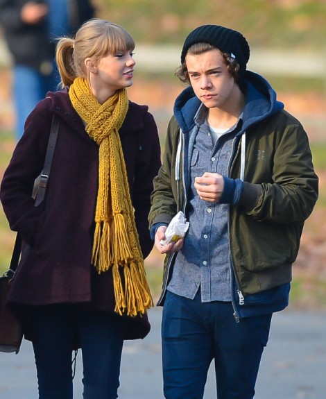 Taylor Swift Kisses Harry Styles At Jingle Ball! (Video) 1210