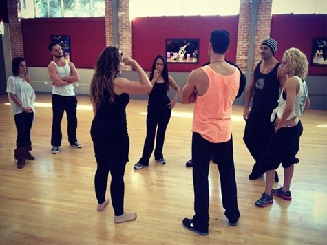 """Team """"Gangnam Style"""" Dancing With the Stars All-Stars Freestyle Performance Video 10/23/12"""