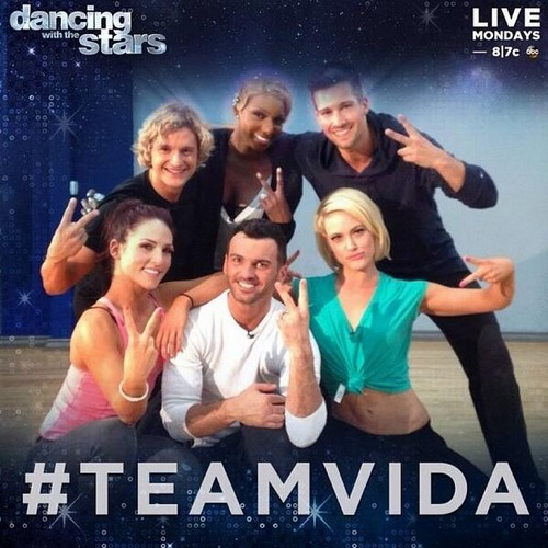 Team Vida Dancing With the Stars Freestyle Video 4/28/14 #DWTS #TeamVida