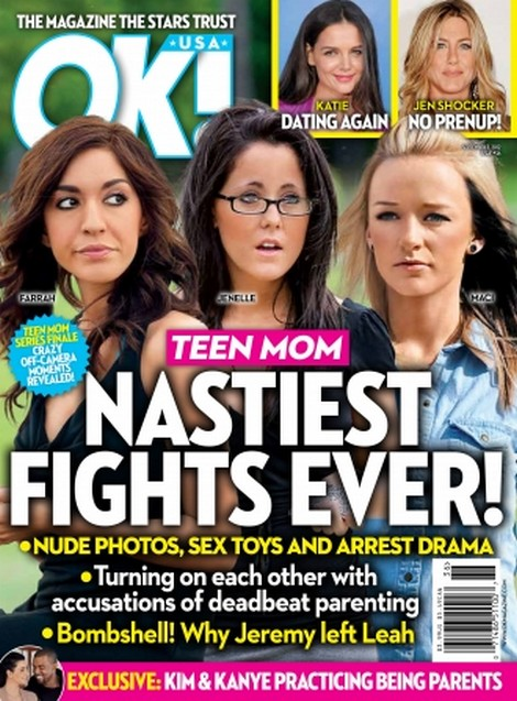 Teen Mom's Crazy Off-Camera Moments Revealed - Nude Photos, Sex Toys and Arrest Drama!