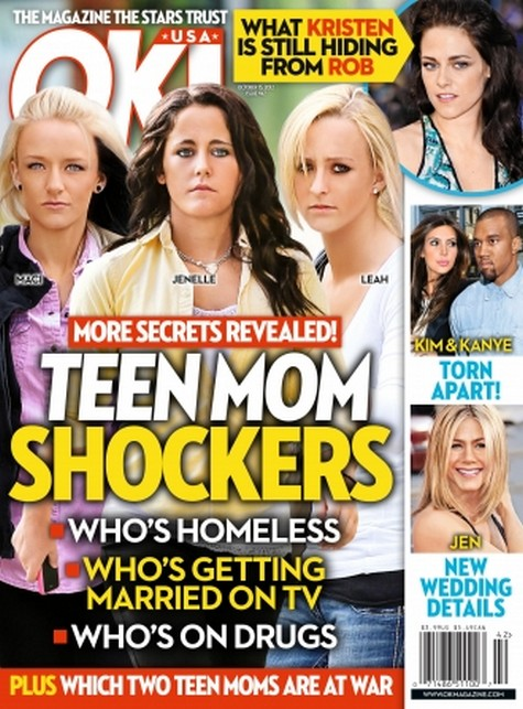 Teen Mom Shockers: Homelessness, Drug Abuse, Televised Weddings & Who's At War