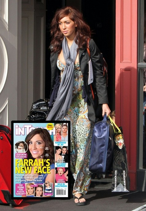 Teen Mom Farrah Abraham's Plastic Surgery Revealed (Photos)