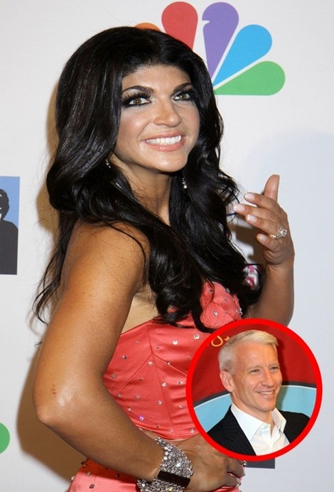 Teresa Giudice Returns To Anderson Cooper For More Bitching