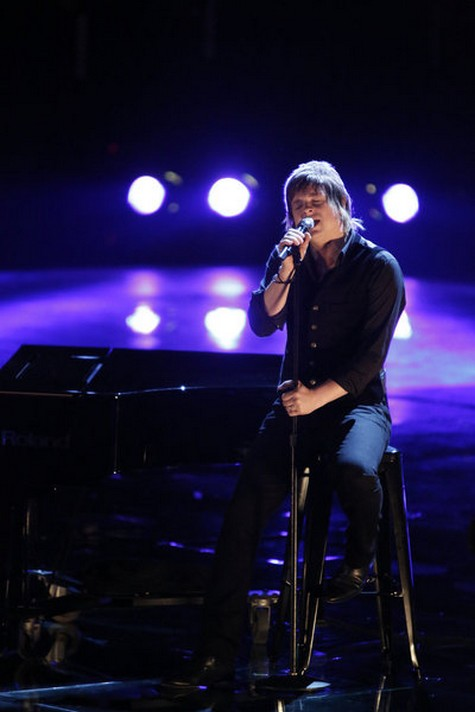 """Terry McDermott The Voice Semifinals """"Let It Be"""" Video 12/10/12"""