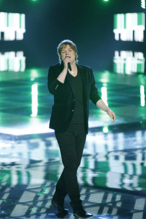 Terry McDermott The Voice Top 3 Video 12/17/12