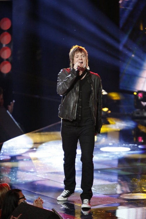 Terry McDermott The Voice Top 10