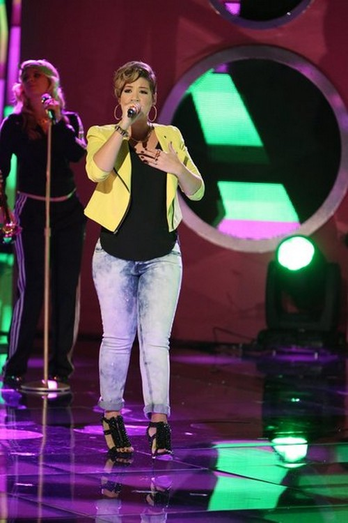 "Tessanne Chin The Voice Top 6 ""Better Man"" Video 12/2/13 #TheVoice"