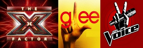 The X-Factor USA vs The Voice vs Glee - It's A Premiere Season Ratings War!