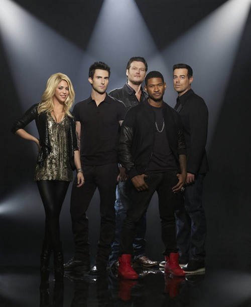 The Voice Season 4: Judging Panel Revamp with Usher and Shakira - Spoiler Preview (PHOTOS)