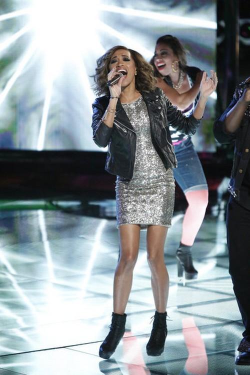"Amanda Brown The Voice Top 6 ""You Make Me Feel Like A Natural Women"" Video 12/3/12"