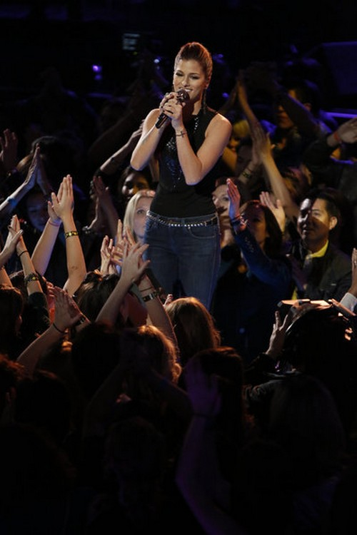 "Cassadee Pope The Voice Top 6 ""I'm With You"" Video 12/3/12"