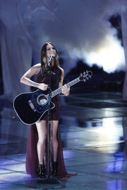 """Cassadee Pope The Voice Top 6 """"Stand"""" Video 12/3/12"""