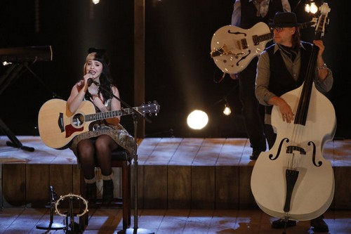 "Melanie Martinez The Voice Top 6 ""Crazy"" Video 12/3/12"