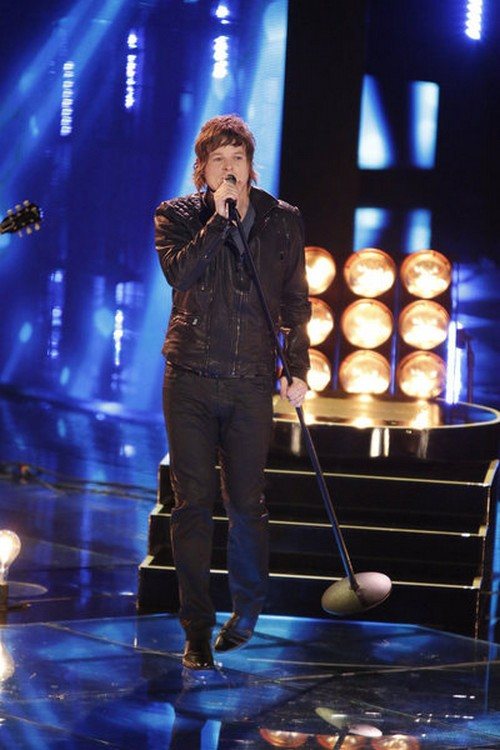"""Terry McDermott The Voice Top 6 """"Stay With Me"""" Video 12/3/12"""