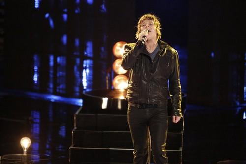 "Terry McDermott The Voice Top 6 ""I Wanna Know What Love Is"" Video 12/3/12"