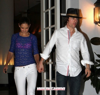 Date Night For Tom and Katie Cruise in South Beach