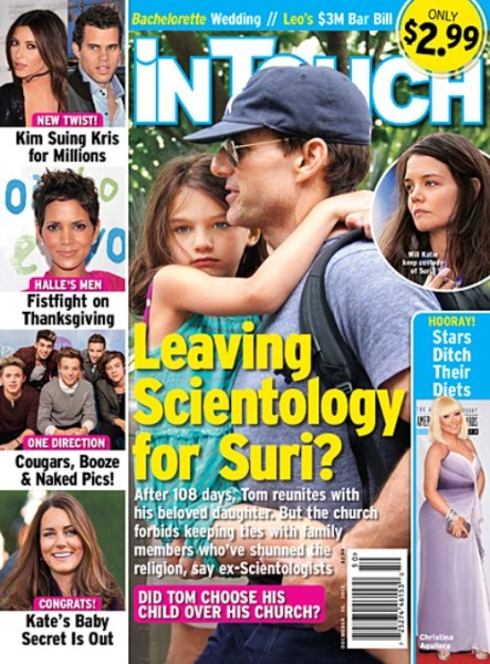 Tom Cruise Decides To Give Up Scientology for Daughter Suri Cruise