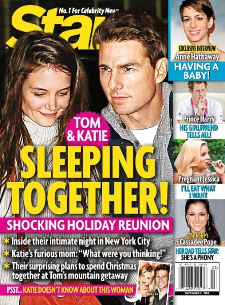 Shocking Holiday Reunion: Tom Cruise and Katie Holmes Sleeping Together Again
