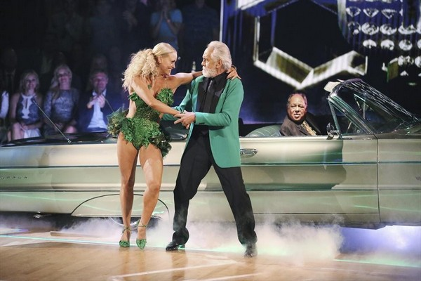 WATCH Tommy Chong & Peta Murgatroyd Dancing With the Stars Salsa Video Season 19 Week 2