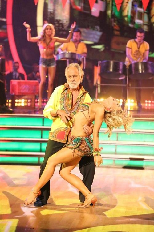 Tommy Chong & Peta Murgatroyd Dancing With the Stars Foxtrot Video Season 19 Week 6 10/20/14 #DWTS