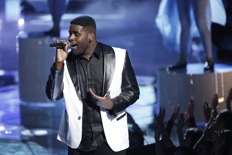 Trevin Hunte Eliminated From The Voice 12/11/12 (Video)