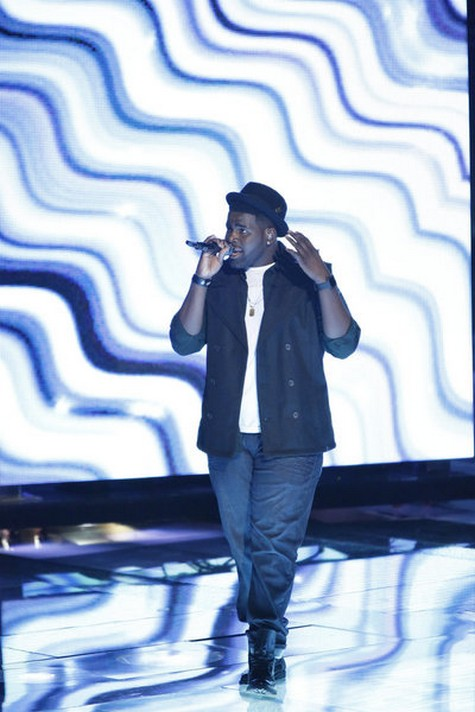 """Trevin Hunte The Voice Semifinals """"Wind Beneath My Wings"""" Video 12/10/12"""