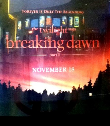See Leaked Poster For 'Twilght Saga: Breaking Dawn Part One' Right Here
