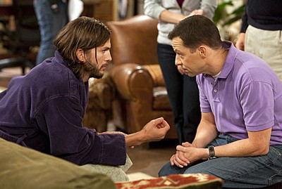 wo and a Half Men Season 9 Episode 5 'A Giant Cat Holding A Churro' Recap 10/17/11