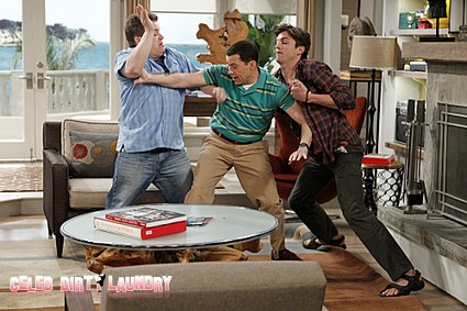 Two and a Half Men Recap: Season 9 Episode 18 'The War Against Gingivitis' 2/27/2012