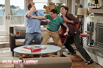Two and a Half Men Recap: Season 9 Episode 18 'The War Against Gingivitis' 2/27/2012
