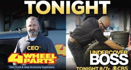 """Undercover Boss Recap 2/5/16: Season 7 Episode 8 """"4 Wheel Parts"""""""