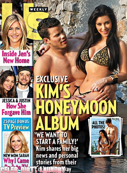 US Weekly: Inside Kim Kardashian Sexy Honeymoon - Photos