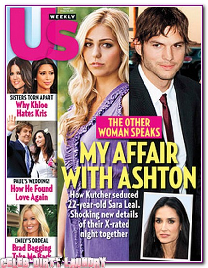 US Magazine: Sara Leal Talks About How Ashton Kutcher Seduced Her