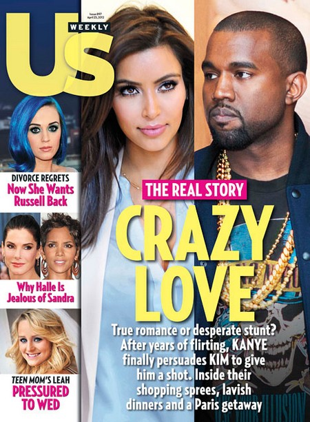 Kim Kardashian and Kanye West On A Double Date With Beyonce And Jay-Z (Photo)