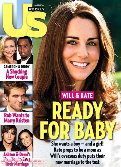 Kate Middleton Ready For A Baby, She Wants Twins (Photos)